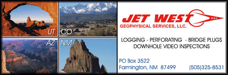 Logging, Perforating, Bridge Plugs, Downhole Video Inspections by Jet West Geophysical Services, LLC